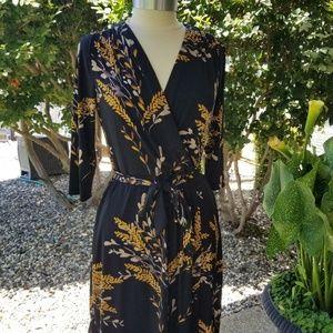 212 Collection Faux Wrap Dress